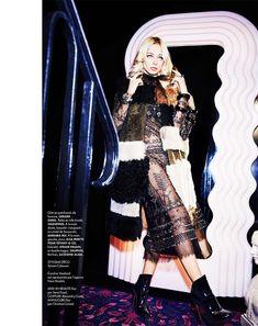 Caroline Vreeland Wears Eccentric Style for ELLE France October 23, 2015