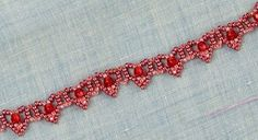 What says Valentine's Day better than a tiny heart bracelet pattern? This Lovely Beaded Hearts Bracelet is perfect for the holiday.