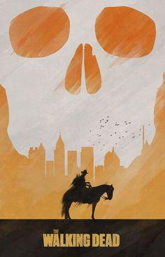 The Walking Dead Poster - Colin Morella