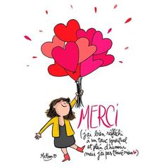 Message Pour Dire Merci, Goeie More, Afrikaans Quotes, Image Fun, Positive Attitude, Cute Illustration, Wonderful Images, Happy Day, Thank You Cards