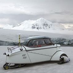 Wow.  Messerschmitt kr200 conversion?  Awesome
