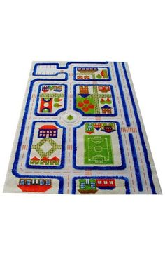 LUCA AND CO 'Traffic' Play Rug available at #Nordstrom