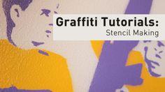 Graffiti Tutorials: Stencil Making. Graffiti street art tutorials. series includes Spray Painting, Stencil Making, and Wheat Pasting. All tu...