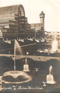 Uk History, London History, Retro Pictures, Old Pictures, Vintage London, Old London, Crystal Palace, Hyde Park, Croydon Airport