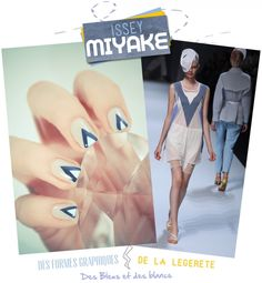Can't afford expensive designer duds? Make your nails look like them instead!