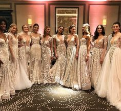 "42.8k Likes, 303 Comments - BERTA (@berta) on Instagram: ""London beauties from our show last-night ❤️ Trunk show weekend at @theweddingclub1 presenting the…"""