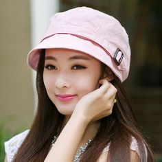 Casual flower bucket hat for women summer sun hats travel wear 3f24f83f2