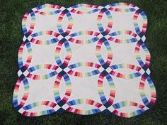 Ravelry: Double Wedding Ring Quilt pattern by Sharon O'Brien