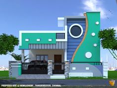 Small House Simple Home Design Front Splendid House Front Design Home Decor Small Elevation For Designs Awesome Single Floor Elevation Designs 2019 Small Home Front Winning Small Home . House Outer Design, House Front Wall Design, Single Floor House Design, Village House Design, Kerala House Design, Simple House Design, Home Design, Modern Design, Plan Design
