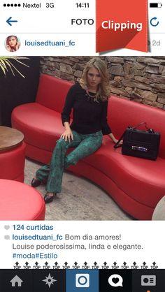 Louise D'Tuane arrasou com a Bolsa Bagaggio!