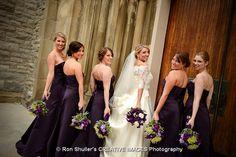 perfect purple wedding colors