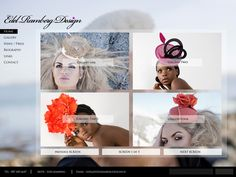 Edel Ramberg Design by Andrew Dewdney , via Behance Web Design, Behance, Gallery, Beauty, Design Web, Roof Rack, Beauty Illustration, Website Designs, Site Design