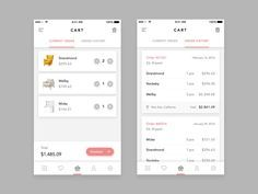 Furniture Shop App - Cart by Afrian Hanafi