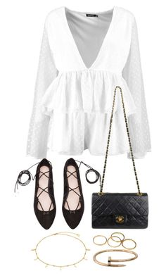 """""""Untitled #4325"""" by theeuropeancloset on Polyvore featuring H&M, Chanel and Cartier"""