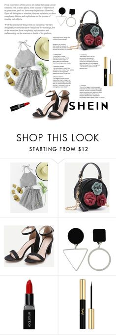 """Shein 7/10"" by zerka-749 ❤ liked on Polyvore featuring Smashbox and Yves Saint Laurent"