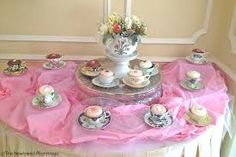 cupcake tea cups