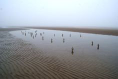 isaac cordal: waiting for climate change at beaufort04   designboom