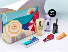 GWP online only on Clinique US & CA websites. Yours with $28 or $34 purchases. http://clinique-bonus.com