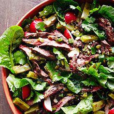 Fresh Grilled Steak Salad