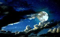 Moonlit sky - Imgur