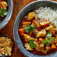 Chris Bavin's family favourite recipe for chicken and sweet potato curry is quick to prepare and packed with delicious, comforting flavours. Yummy Chicken Recipes, Yum Yum Chicken, Meal Recipes, Curry Recipes, Dinner Recipes, Cooking Recipes, Sweet Potato Curry, Breakfast For Dinner, Butter Chicken
