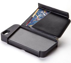 Never forget the important stuff when going to a gig - Targus Wallet Case for iPhone 5