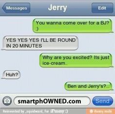 - - Autocorrect Fails and Funny Text Messages - SmartphOWNED Funny Adult Memes, Funny Test, Funny Jokes, Hilarious Texts, Epic Texts, Funny Minion, Funny As Hell, Wtf Funny, Funny Fails