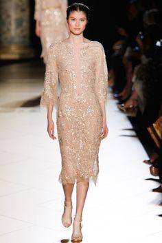 Elie Saab Fall 2012 Couture Fashion Show - Sui He (OUI)