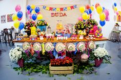 Decoração - Frescurinhas Personalizadas Bolo, cupcakes, trufa de milho, biscoitos decorados - Elaine Monteiro Buffet - Vila da Arte Recr...