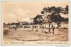 La plage vers le miami