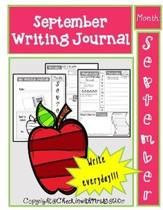 This writing journal includes a writing task for every day including edit & re-write, making connections, sentence writing, problem solving, drawing & using adjectives. The prompts are aligned with monthly themes and great for use as morning work.