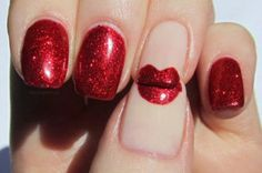 9 Best Red Nail Art Designs with Pictures | Styles At LIfe