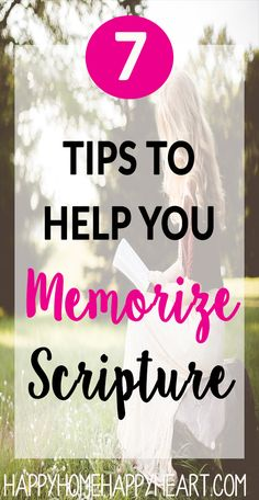 Enhance your Bible study experience by memorizing scripture. Learn how to memorize scripture. These scripture memorization tips will help you memorize scripture fast & grow as a Christian! Bible Study Plans, Bible Study Tips, Bible Study Journal, Bible Lessons, Bible Verse Memorization, Bible Scriptures, Faith Bible, Bible Studies For Beginners, Bible College