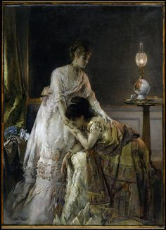 After the Ball, 1874    Alfred Stevens (Belgian, 1823–1906)