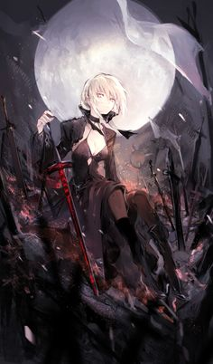 Tags: Fanart, Saber (Fate/stay night), Pixiv, Saber Alter, PNG Conversion, Fanart From Pixiv, Fate/Grand Order, Pixiv Id 18090547