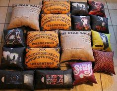 Horror throw pillows by horror decor.com