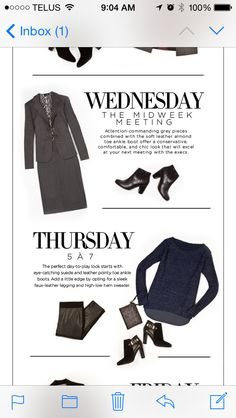 5 days of booties! Wednesday and Thursday #lechateau