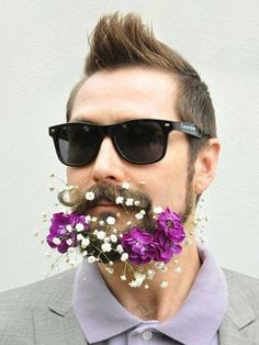 In pictures: Flower beards                                                                                                                                                                                 More