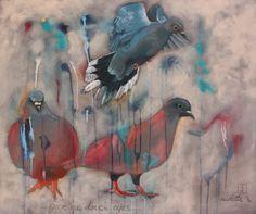 Give me dove's eyes - Nicolette Geldenhuys Art (FB)