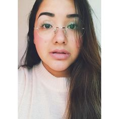 Very pretty rimless glasses                                                                                                                                                                                 More