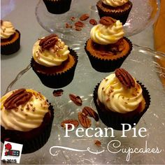 Pecan Pie is the quintessential dessert of fall, and in a cupcake is even better.