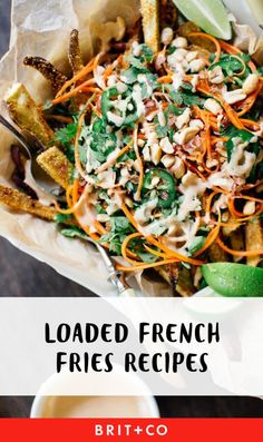 Who doesn't love loaded fries?!