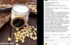 Lechada de maní / lechada de cacahuate / leche vegetal