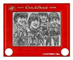 Etch a Sketch Artist George Vlosich // The Beatles