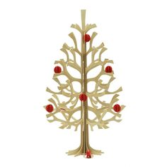 Lovi Birch Wood Christmas Tree | HORNE
