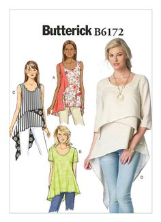 B6172 | Butterick Patterns - very fashion forward and I like the movement -DB