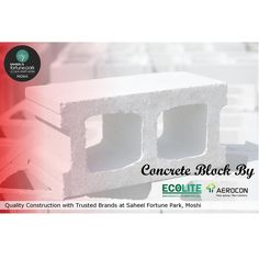 Quality Construction with Trusted Brands at Saheel Fortune Park, Moshi,Pune  Concrete Block By Aerocon(Birla) & Ecolite  For project details contact us on - +91 8408007888/666 | www.saheelproperties.com  Site Add: Gat No.195 , Next to Priyadarshani School, Dehu - Alandi Road, Borhadewadi, Moshi,Pune.  #PCMC #SaheelProperties #FortunePark #Moshi