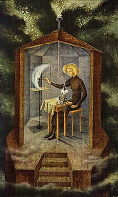 Remedios Varo, 1908- 1963. Painted in 1958.