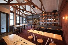 Grosvenor Hotel restaurant and bar by Red Design Group, Melbourne