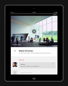 Vodafone 360 iPad App by Andy Gugel, via Behance